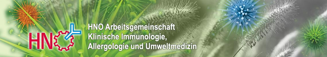 HNO AG Klinische Immunologie, Allergologie und Umweltmedizin